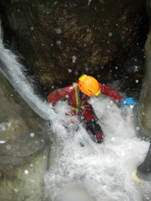 Canyoning dans le Pays Basque